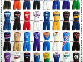真有才!来看看这位15岁球迷为NBA球队设计的球衣-[青岛啊]